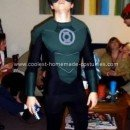 Homemade Green Lantern Costume