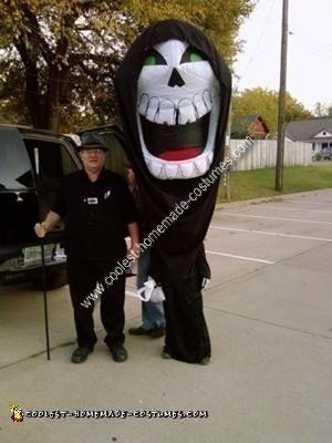 Homemade Grim Reaper Costume