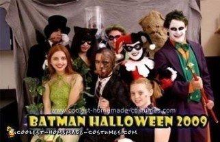 Homemade Group Batman Villains Costumes
