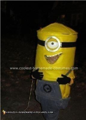 Homemade Gru's Minion Costume