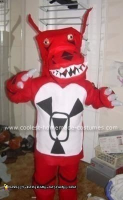 Homemade Guilmon Costume