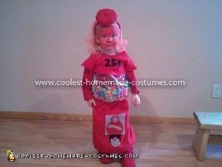 Coolest Homemade Gumball Machine Costume 14