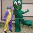 Homemade Gumby Costume