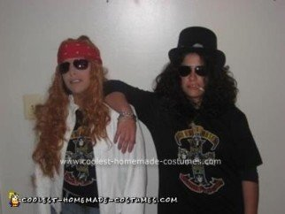 Homemade Guns N Roses Halloween Costume