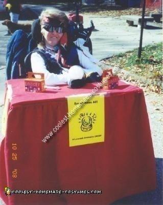 Homemade Gypsy Fortune Teller Wheelchair
