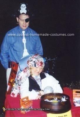 Homemade Gypsy Fortune Teller Wheelchair Costume
