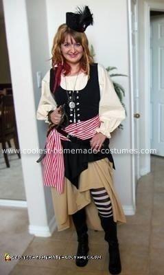 Homemade Halloween Pirate Costume