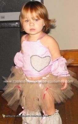 Homemade Halloween Scarecrow Costume