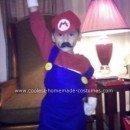 Homemade Halloween Super Mario Costume