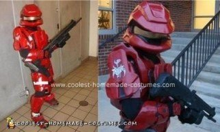 Homemade Halo Scout Halloween Costume