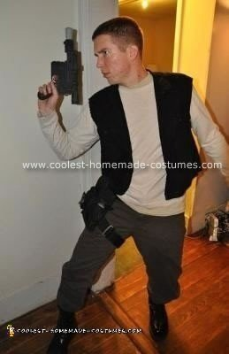 Homemade Han Solo Costume