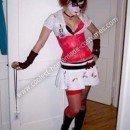 Homemade Harley Quinn Costume