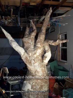 Homemade Haunted Tree Costume