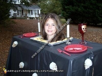 Homemade Head on a Platter Costume