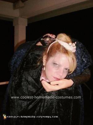 Homemade Headless Anne Boleyn Costume