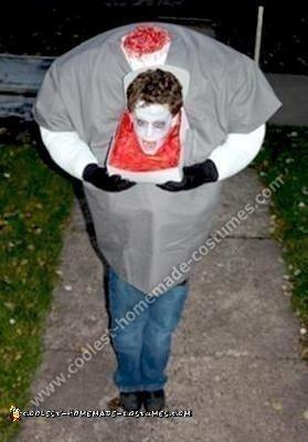 Homemade Headless Boy Halloween Costume