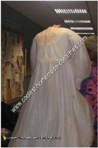 Homemade Headless Bride Halloween Costume