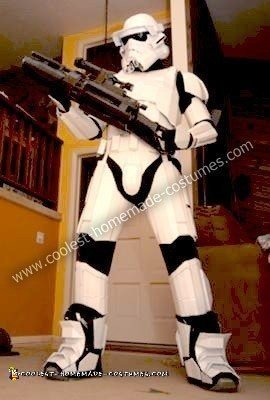 Homemade Heavy Storm Trooper Halloween Costume