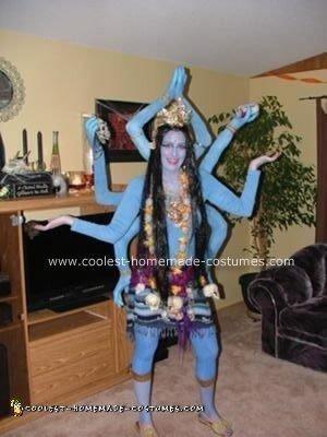 Homemade Hindu Goddess Kali
