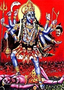 The Picture That Inspired Me to Make My Homemade Hindu Goddess Kali Costume
