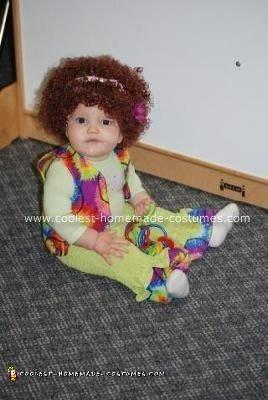 Homemade Hippie Baby Costume