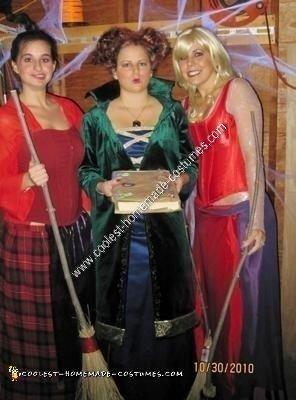 Coolest Homemade Hocus Pocus Group Halloween Costume Ideas