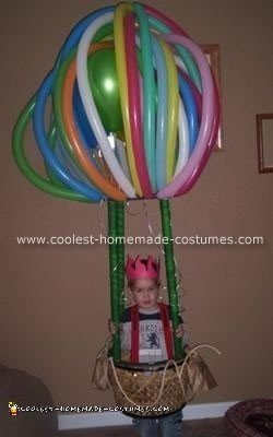 Coolest Homemade Hot Air Balloon Costume