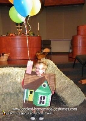 Homemade House from Up Halloween Costume