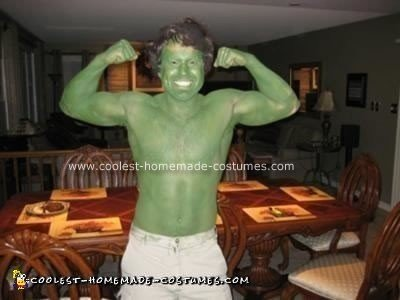 Homemade Homemade Hulk Costume