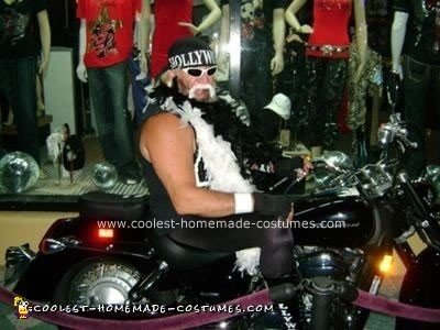Homemade Hulk Hogan Hollywood NWO Costume