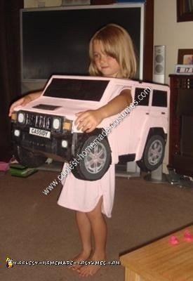 Homemade Hummer Costume