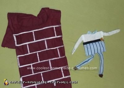 Homemade Humpty Dumpty Baby Halloween Costume Idea
