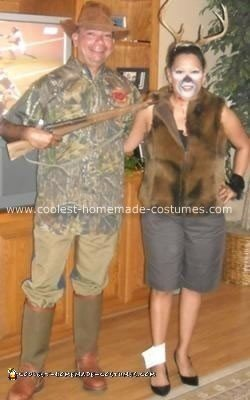"""Homemade Hunter and his """"Dear"""" Costume"""