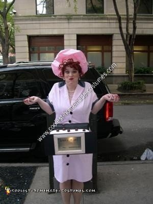 Homemade I Love Lucy Halloween Costume