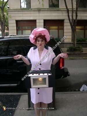 Homemade I Love Lucy Halloween Costume