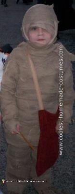 Homemade I Love My Mummy Costume