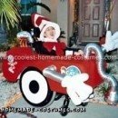Homemade Cat in the Hat and His Vacuum Cleaner Wheelchair Costume