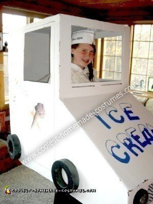 Homemade Ice Cream Truck Costume