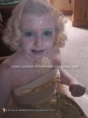 Homemade Ice Princess Costume