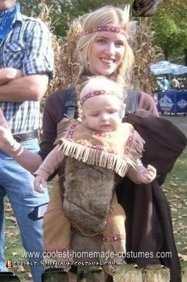 Homemade Infant Indian Costume