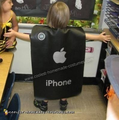 Homemade iPhone Costume