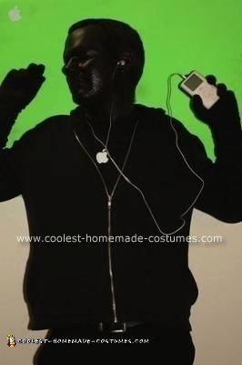 Homemade iPod Commercial Halloween Costume Idea