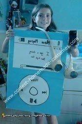 Homemade iPod Costume