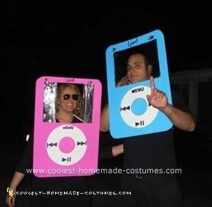 Homemade iPod Costumes