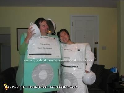 Homemade iPod Couple Costume