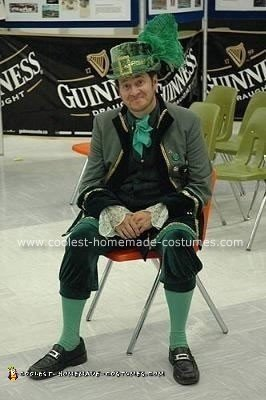 Homemade Irish Leprechaun Costume
