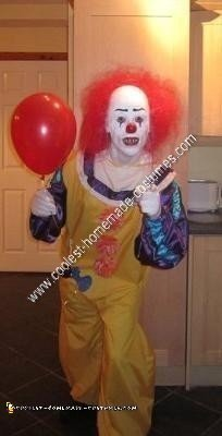Homemade Irish Pennywise Halloween Costume