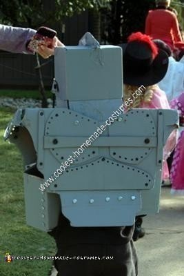 Homemade Iron Giant Costume