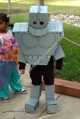 Homemade Iron Giant Costume