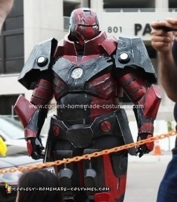 Homemade Iron Man Heavy Artillery Costume